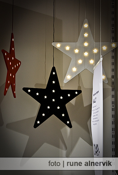 Adventsstjärnor hos IKEA: Oj, det är advent snart!