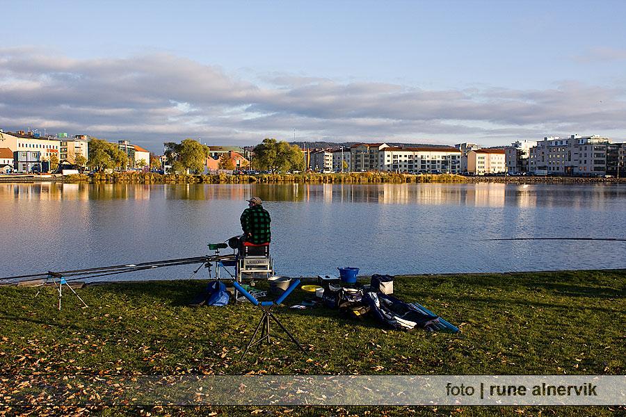 Fisketävling vid Munksjön