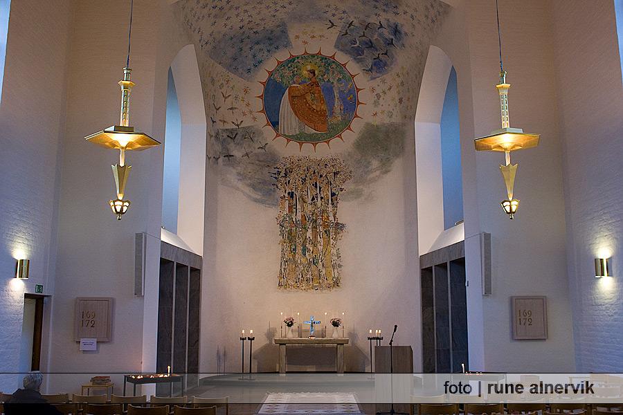 Stora kapellet, interiör