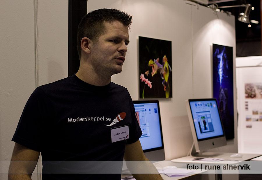 Anders Jensen håller miniseminarie - Perfekt skärpa i Photoshop