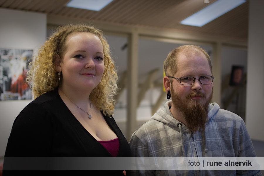 Emma Åkesdotter och Christian Nordin