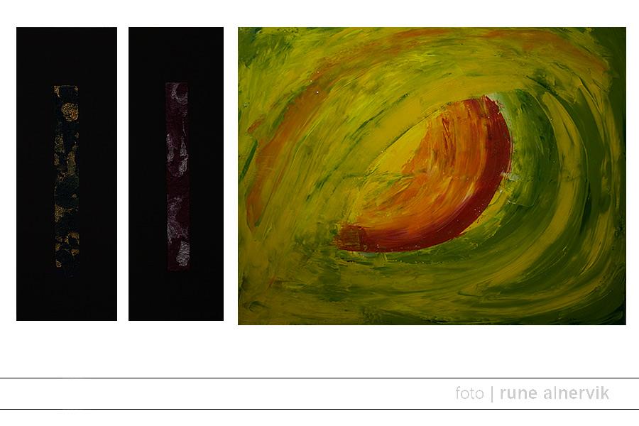 Emma Åkesdotter, exempel målningar. Bilden får inte distribueras, kopieras eller redigeras.