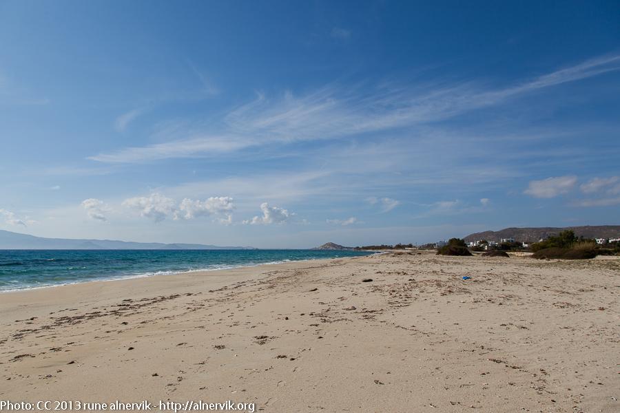 Glifada beach, Naxos Island