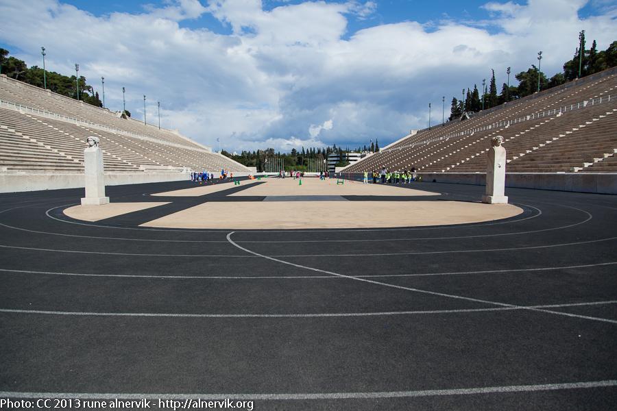 Panathinaikon Stadium.